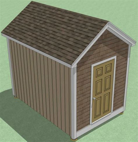 Garden Shed Plans 8x12 by 8x12 Shed Plans How To Build Guide Step By Step