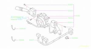Subaru Forester Steering Column Wiring Harness