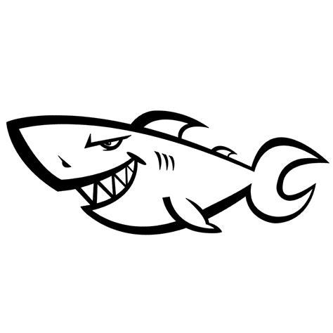 Haai Kleurplaat by Leuk Voor Haaien 0007