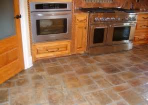 floor tile design ideas for kitchen room decorating