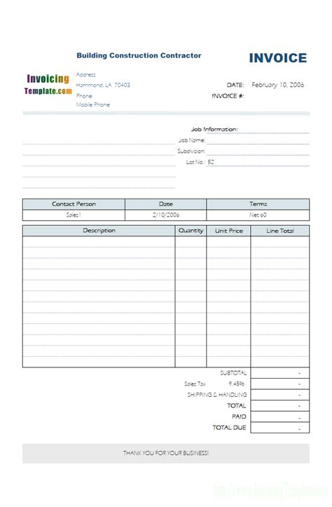 excel monthly bill template
