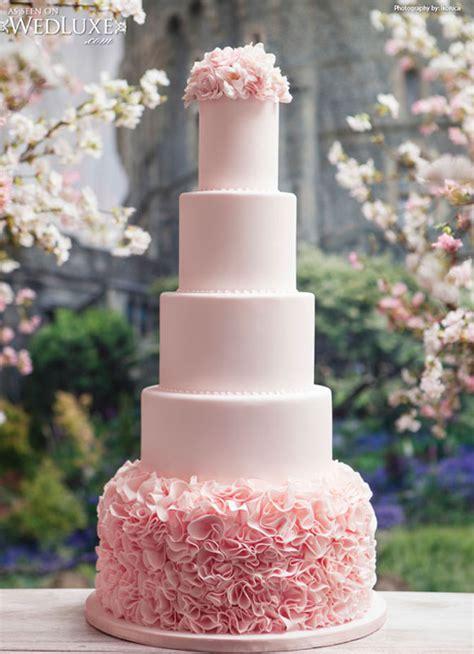 luxury blush pink wedding cake Archives   Weddings Romantique