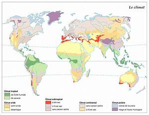 Carte Du Monde Metallique : climats voyages cartes ~ Teatrodelosmanantiales.com Idées de Décoration