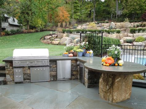 17+ Outdoor Kitchen Countertop Designs, Ideas  Design