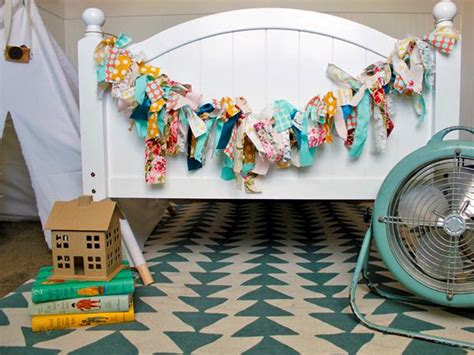diy fabric garland hgtvs decorating design blog hgtv
