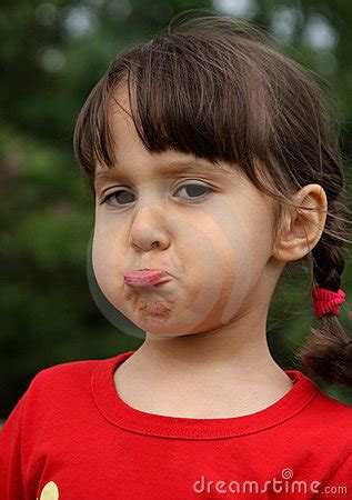 girl making funny face royalty  stock