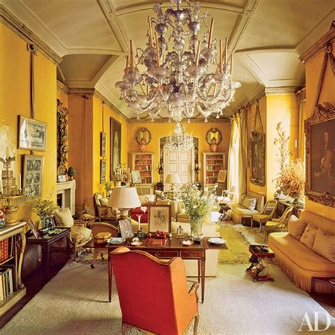 aesthete living rooms architectural digest