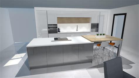 deco cuisine blanc et bois stunning cuisine gris blanc et bois ideas lalawgroup us