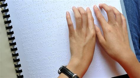 blind canadians reading braille ctv news