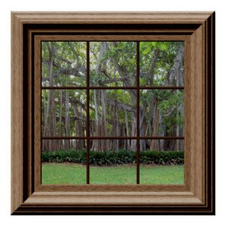 75 Off Artificial Christmas Trees by Fake Window Posters Zazzle