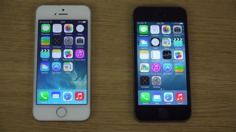 apps between iphones iphone 5s ios 8 vs iphone 5s ios 7 opening apps speed
