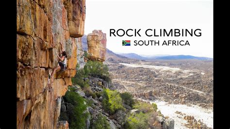 The Rock Climbing Experience South Africa Youtube