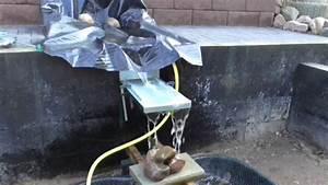 Wasserfall Brunnen Selber Bauen : wasserlauf selber bauen wasserfall 5 selber machen das macht spa und spart geld youtube ~ Buech-reservation.com Haus und Dekorationen