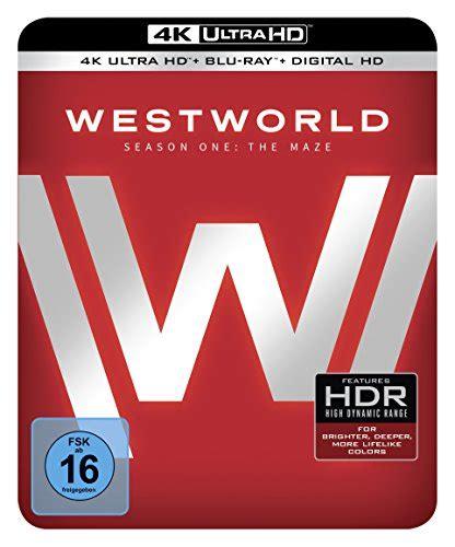 westworld staffel  das labyrinth steelbook ultra hd