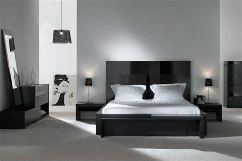 chambre noir blanc decoration chambre noir blanc gris visuel 5