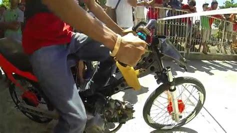 Philippines Underbone Motorcycle Drag Racing