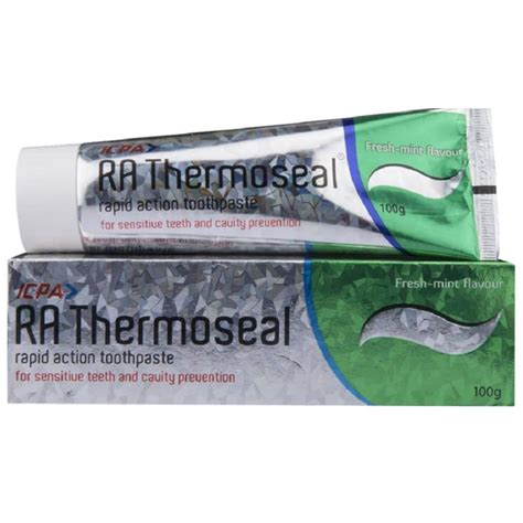 Buy Icpa Health Products RA Thermoseal Toothpaste Fresh ...