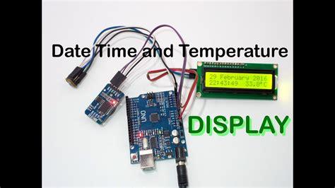 display date time temperature ds rtc doovi