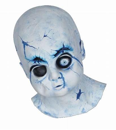 Creepy Transparent Doll Halloween Freepngimg Clipground Pngmart
