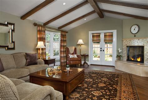 Green Tile Living Room by Benjamin Metropolitan Living Room Traditional With