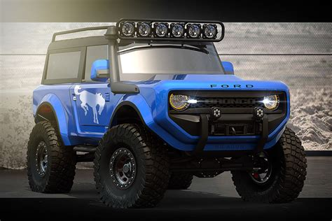 Ford Bronco 2020 by 2020 Ford Bronco Concept Suv Hiconsumption