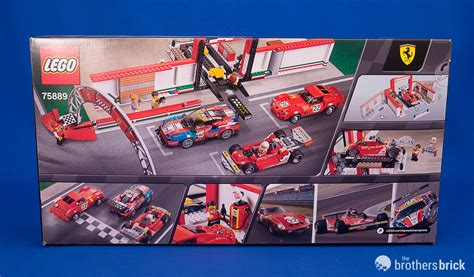 See our disclaimer create the ferrari ultimate garage with a workshop/museum, attachable racetrack section and lego® speed champions versions of the classic ferrari 250 gto, 488 gte and historic 312 t4 cars. 75889 Ferrari Ultimate Garage-2 | The Brothers Brick | The Brothers Brick