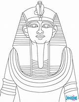Mummy Coffin Template Coloring Egyptian Pages Face sketch template