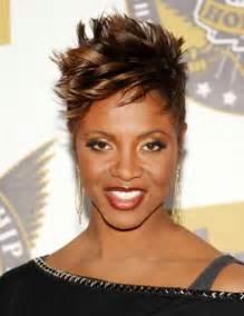 MC Lyte Short Haircuts for Black Women