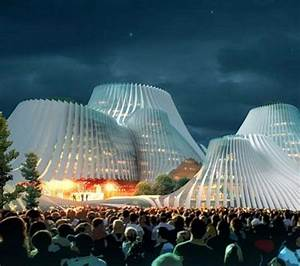 Eco Light Solar Shuttered Volcano Architecture The Taichung Convention