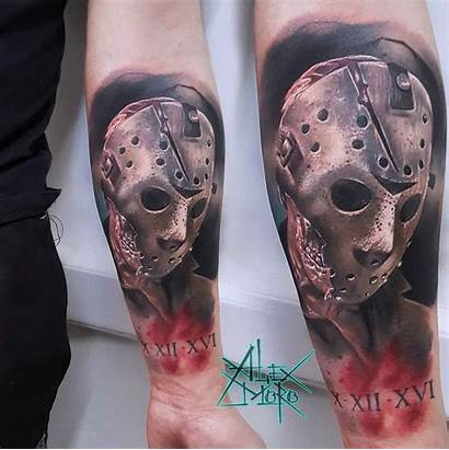 Jason Tattoo Horror Tattoos Arm Alex Moro