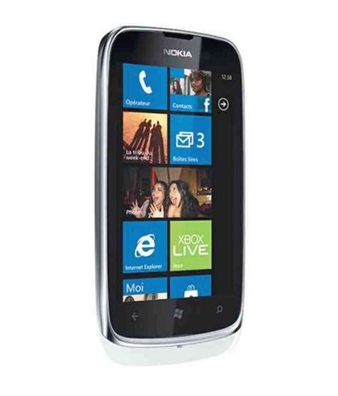 nokia lumia 610 white mobile phones at low prices snapdeal india