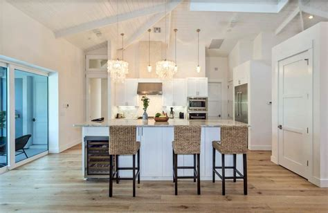 light wood floors with white cabinets 25 cottage kitchen ideas design pictures designing idea 354 | bright cottage kitchen with white cabinets and light wood flooring