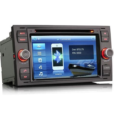 ford focus mk2 mk6 transit mk7 unit gps radio stereo satnav dvd bt