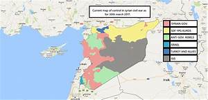 Syrian civil war march 30th 2017 by McLurr [1615x782 ...
