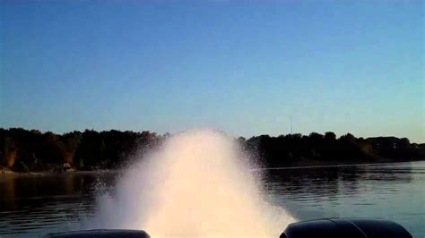 World S Fastest Pontoon by Witness The World S Fastest Pontoon Boat In