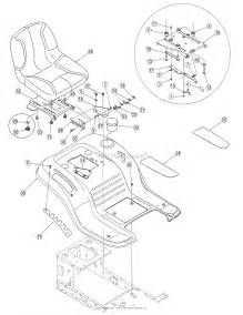 Mtd 13an771h729  2007  Parts Diagram For Fender Assembly