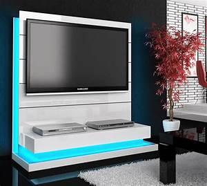 Tv Wand Weiß Hochglanz : tv wandsystem tv wand mit led beleuchtung weiss hochglanz neu eur 880 00 picclick de ~ Indierocktalk.com Haus und Dekorationen