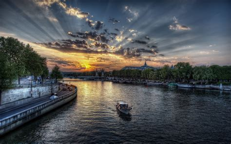 The Remarkable River Seine Paris France World For Travel