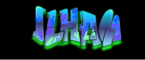 Grafiti Ilham : Setelah Jadi Klik Save