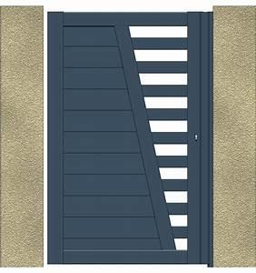 Portail Aluminium Pas Cher : ides de portail et portillon alu pas cher galerie dimages ~ Melissatoandfro.com Idées de Décoration