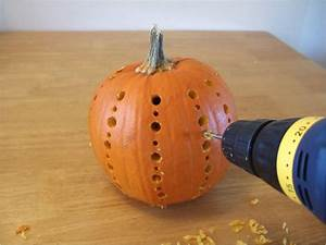 Simple, Pumpkin, Carving, With, Drill, 3