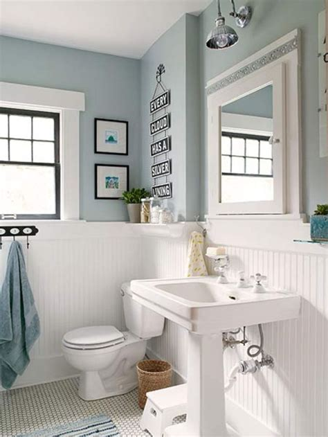 Bathroom With Wainscoting Ideas by Cottage Bathroom Design Ideas 41 Favorite Places