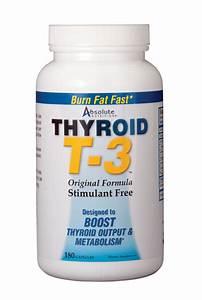Thyroid T-3 Supplement - T3 For Weight Loss - Wellness