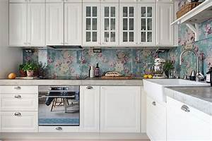 13 removable kitchen backsplash ideas With best brand of paint for kitchen cabinets with repositionable wall art