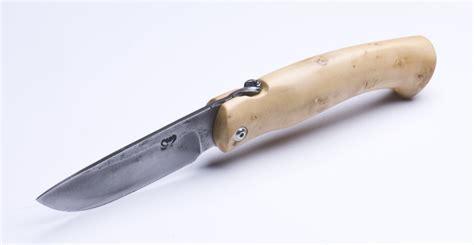 les couteaux de cuisine couteau artisanal pliant de mickaël moing buis