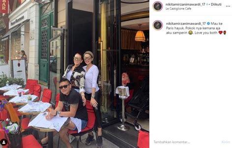 Seksi Abis Momen Seru Liburan Nikita Mirzani Paris