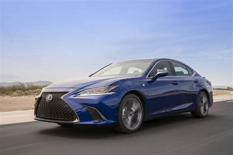 lexus es miniature ls  powertrain updates