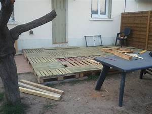 fabrication d39une terrasse With wonderful creer une allee de jardin 17 fabrication dune terrasse