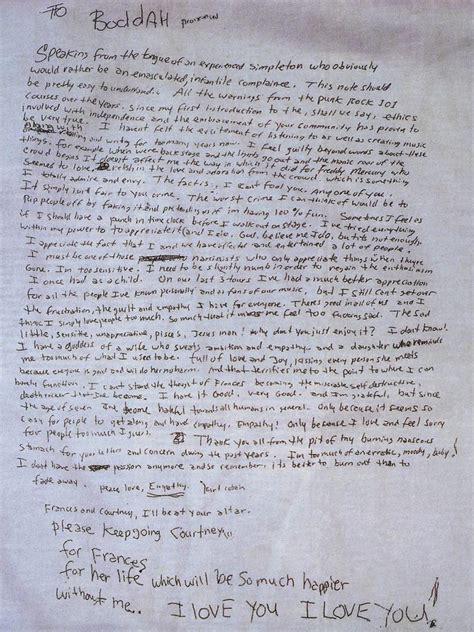 kurt cobain letter the of kurt cobain never fade away the unredacted 22673 | 1 LZPg 25j6hAPtB5ZlfMuHw