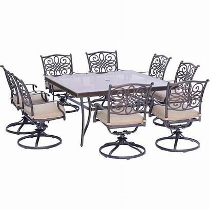 Dining Patio Sets Aluminum Hanover Chairs Outdoor